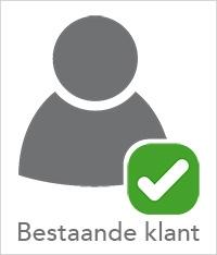 Account bestaande klant aanvragen
