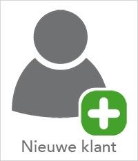 Account nieuwe klant aanvragen