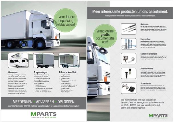 Documentatie over gasveren voor de carrosseriebouw