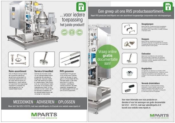 Documentatie over gasveren voor de meubelindustrie