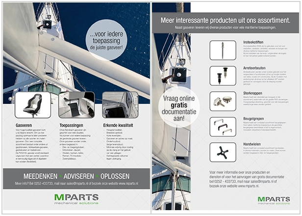 Documentatie over gasveren voor de maritieme sector