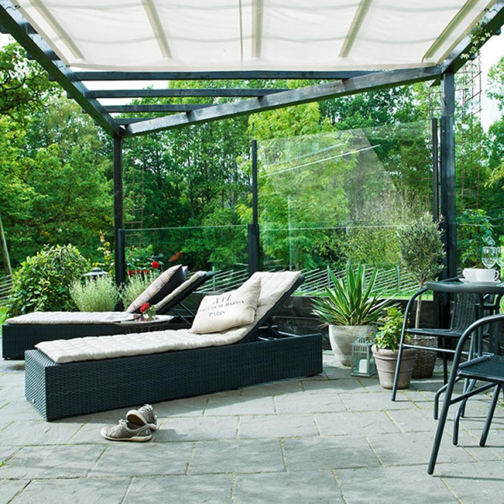 Gasveren voor zonweringen en terrasschermen