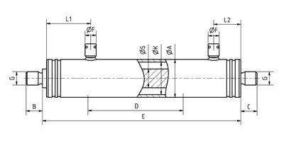 Micro hydraulische cilinders